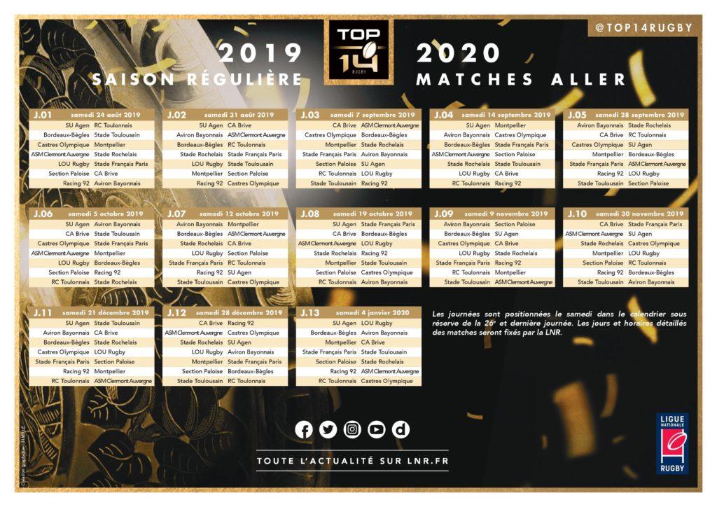 Lidl Starligue Calendrier.Decouvrez Le Calendrier Du Stade Toulousain Pour La Saison