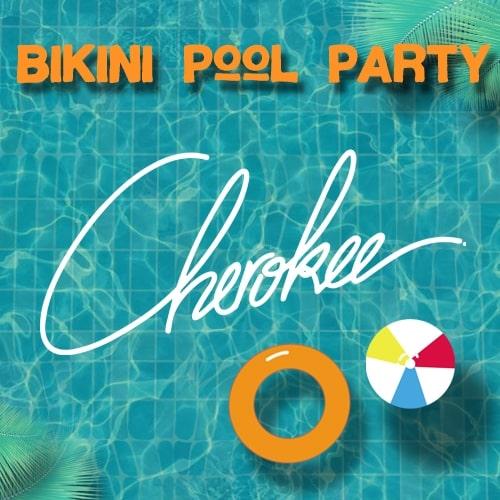 Cherokee pour la Bikini Pool Party le 15 septembre