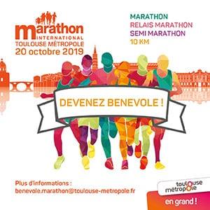 Marathon bénévoles