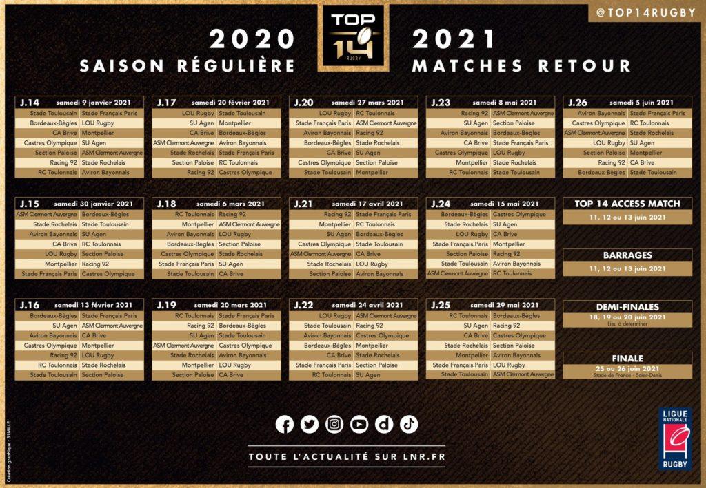 Stade Toulousain : Découvrez le calendrier de la saison 2020 2021
